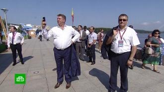 На остров Русский съезжаются гости Восточного экономического форума