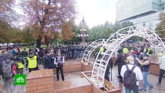 В Госдуме выясняют причину вмешательства США в несогласованные митинги в Москве
