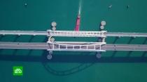 Последние штрихи: на Крымском мосту готовятся кзапуску железнодорожных составов