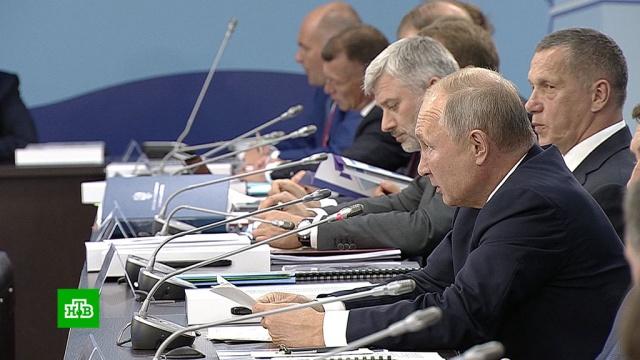 Путин пообещал помочь сахалинцам, живущим вповрежденных землетрясением домах.губернаторы, Дальний Восток, жилье, Путин, Сахалин.НТВ.Ru: новости, видео, программы телеканала НТВ