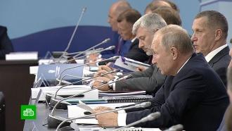 Путин пообещал помочь сахалинцам, живущим вповрежденных землетрясением домах