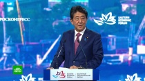 Абэ предложил Путину поскорее заключить мирный договор