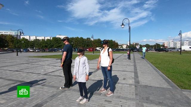 Энтузиасты из Калининграда построили виртуальный замок вцентре города.Калининград, история.НТВ.Ru: новости, видео, программы телеканала НТВ