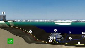 Со дна моря исчезла немецкая научная станция