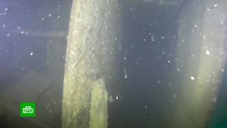 Уникальные съемки с затонувшего корабля-призрака «Террор»