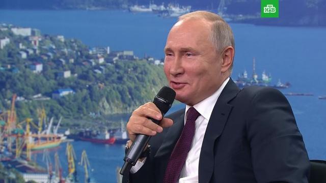 Путин пошутил про чужую тещу.Владимирская область, Путин, жилье, курьезы, строительство, юмор и сатира.НТВ.Ru: новости, видео, программы телеканала НТВ
