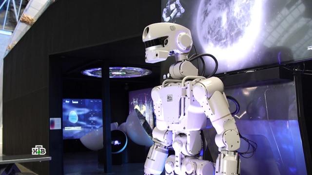 Робот Фёдор поможет землянам покорить другие планеты.МКС, космонавтика, космос, роботы, технологии.НТВ.Ru: новости, видео, программы телеканала НТВ