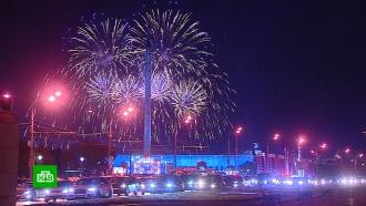 Субботние торжества в честь Дня города завершились салютом