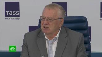 Жириновский предложил допускать до выборов только представителей парламентских партий