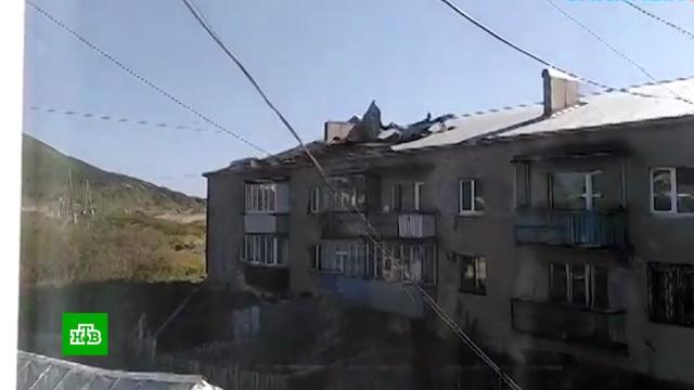 Тайфун «Линлин» принес на Сахалин ливни исильный ветер.Дальний Восток, Приморье, Сахалин, Хабаровский край, наводнения.НТВ.Ru: новости, видео, программы телеканала НТВ