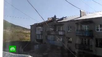 Тайфун «Линлин» принес на Сахалин ливни исильный ветер