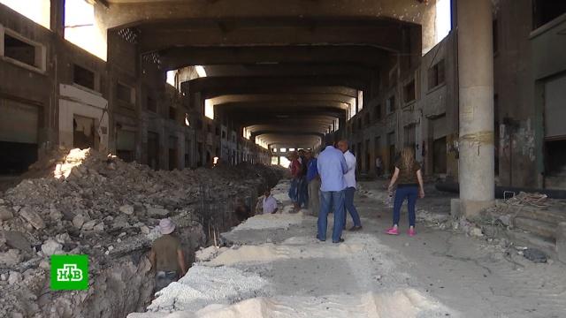 Всирийском Алеппо восстанавливают центральный рынок.Сирия, войны и вооруженные конфликты, реконструкция и реставрация, ярмарки и рынки.НТВ.Ru: новости, видео, программы телеканала НТВ