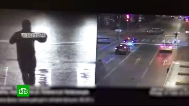 Человек-автомобиль отомстил бывшей, «выехав» на красный.Тюмень, видеонаблюдение, штрафы.НТВ.Ru: новости, видео, программы телеканала НТВ