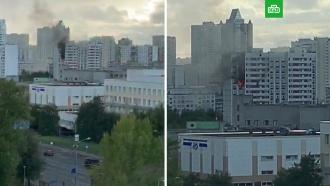 Пожар в московской многоэтажке: один погиб, пять пострадали