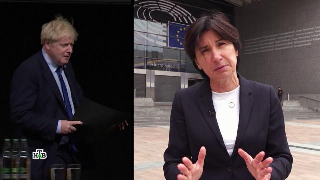 Крик ибардак: вЕвропе придумали новое определение для Brexit.Великобритания, Джонсон Борис, Европейский союз.НТВ.Ru: новости, видео, программы телеканала НТВ
