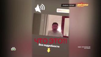 Виторган в день свадьбы Собчак снял провокационный ролик в туалете