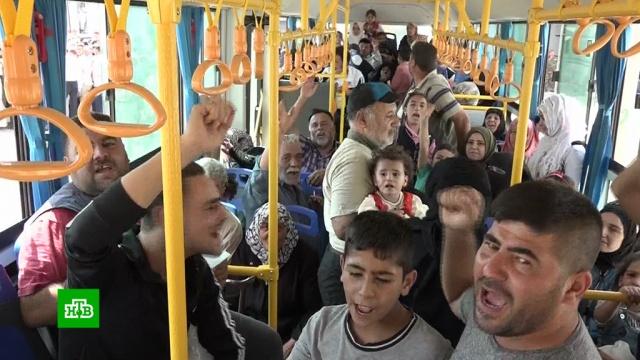 Дорога домой: пункт пропуска «Суран» в Хаме заработал в двух направлениях.Сирия.НТВ.Ru: новости, видео, программы телеканала НТВ