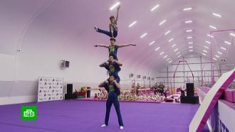 Гимнаст Антон Голоцуцков открыл новый спортивный центр в Москве