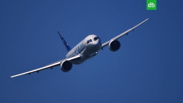 Российский самолет МС-21 совершил первый международный полет.Российский среднемагистральный самолет МС-21 совершил первый международный полет Жуковский — Стамбул.Турция, авиация, самолеты.НТВ.Ru: новости, видео, программы телеканала НТВ