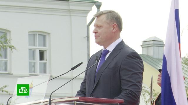 Новый губернатор Астраханской области вступил вдолжность.Астраханская область, выборы, губернаторы.НТВ.Ru: новости, видео, программы телеканала НТВ