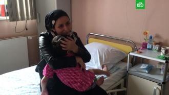 Избитая девочка из Ингушетии встретилась смамой