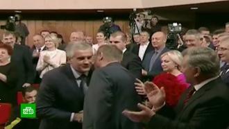 ВКрыму переизбрали на второй срок главу республики испикера парламента
