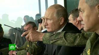 Военные показали Путину, чему научились вСирии