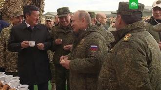 Глава Генштаба рассказал Путину анекдот про армейскую столовую