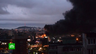 Пожар вТЦ «Максим» во Владивостоке потушен