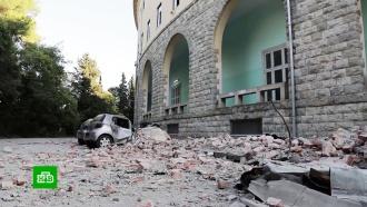 Более 100человек пострадали врезультате землетрясения вАлбании