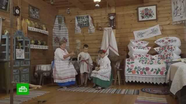 Уникальная коллекция: вбелорусском музее хранится самый древний образец фартука.Белоруссия, выставки и музеи, одежда.НТВ.Ru: новости, видео, программы телеканала НТВ