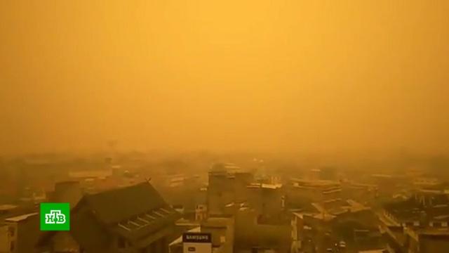 Лесные пожары превратили Индонезию вМарс.Индонезия, пожары.НТВ.Ru: новости, видео, программы телеканала НТВ