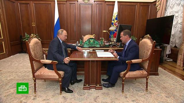 Путин поручил Медведеву «разбюрократить» финансирование нацпроектов.Медведев, Путин, бюджет РФ, нацпроекты, экономика и бизнес.НТВ.Ru: новости, видео, программы телеканала НТВ