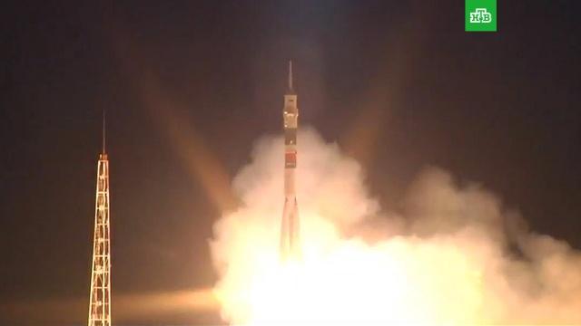 Последняя вистории ракета «Союз-ФГ» стартовала кМКС сновым экипажем.Байконур, МКС, Роскосмос, космонавтика, космос.НТВ.Ru: новости, видео, программы телеканала НТВ