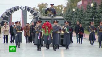 В Подмосковье родным передали останки красноармейцев