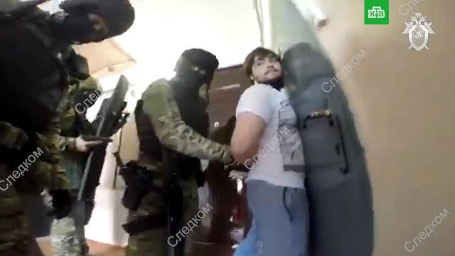 ВМоскве спецназ обезвредил спонсоров ИГИЛ.Исламское государство, аресты, задержание, терроризм.НТВ.Ru: новости, видео, программы телеканала НТВ