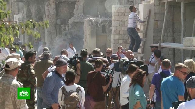 В Алеппо восстанавливают крупнейший в мире крытый рынок.Сирия, ярмарки и рынки.НТВ.Ru: новости, видео, программы телеканала НТВ