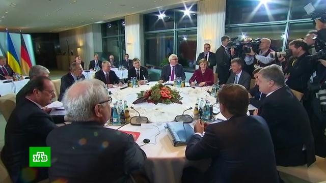 Украина подписала «формулу Штайнмайера» для Донбасса.Украина, войны и вооруженные конфликты, переговоры.НТВ.Ru: новости, видео, программы телеканала НТВ