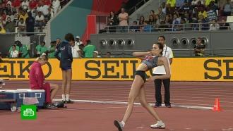 Ласицкене стала трехкратной чемпионкой мира впрыжках ввысоту