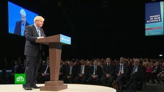 Коленки и Brexit: карьера Бориса Джонсона может пасть от ноги женщины