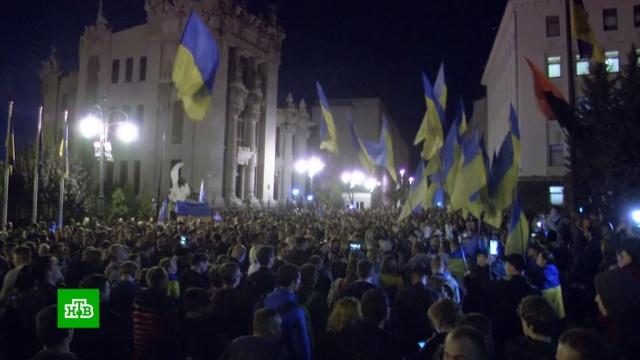 Украинские националисты требуют отказаться от «формулы Штайнмайера».Зеленский, Украина, войны и вооруженные конфликты, переговоры.НТВ.Ru: новости, видео, программы телеканала НТВ