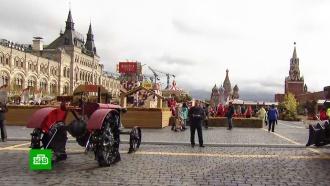 Выставка тракторов иблюда со всей России: вМоскве стартовал фестиваль «Золотая осень»
