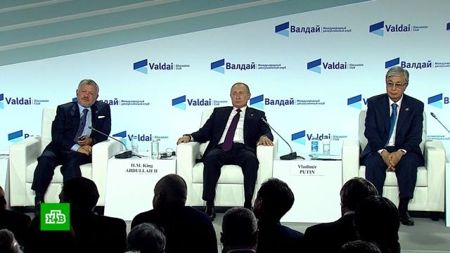 Путин: США сами признали, что обманывали Россию еще во время действия ДРСМД.Путин, США, армии мира, вооружение, ракеты.НТВ.Ru: новости, видео, программы телеканала НТВ