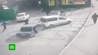 Недовольные клиенты устроили стрельбу уиркутской автомастерской