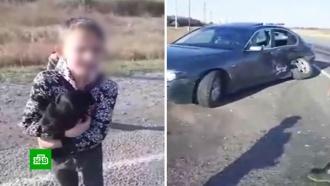Семилетний мальчик устроил ДТП с грузовиком