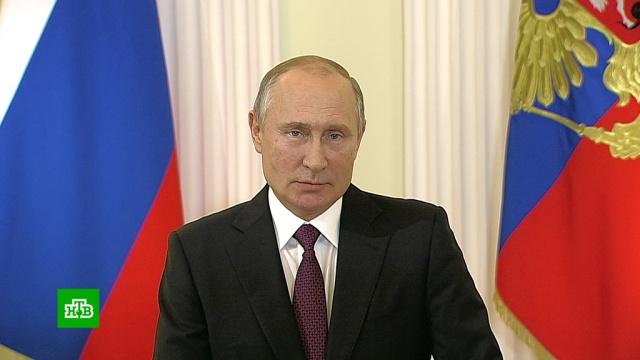 Путин поздравил учителей спрофессиональным праздником.Путин, образование, торжества и праздники, школы.НТВ.Ru: новости, видео, программы телеканала НТВ