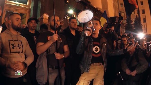 По Украине прокатилась волна митингов против «формулы Штайнмайера».Украина, митинги и протесты, национальная рознь.НТВ.Ru: новости, видео, программы телеканала НТВ