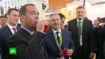 ВМоскве открылась сельскохозяйственная выставка «Золотая осень»