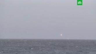 Подлодка «Колпино» выстрелила «Калибрами» вЧёрном море
