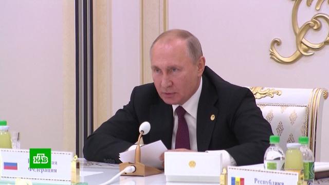 Путин предупредил ориске массового бегства боевиков ИГИЛ из-за операции Турции.Исламское государство, Путин, Сирия, Турция, войны и вооруженные конфликты, терроризм.НТВ.Ru: новости, видео, программы телеканала НТВ
